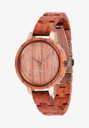 Watch - rot/bronze