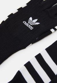 adidas Originals - GLOVES UNISEX - Gloves - black/white - 1