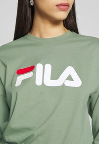 Fila Tall - PURE LONG SLEEVE SHIRT - Long sleeved top - sea spray - 4