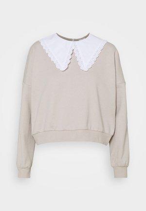 NMDYLANA MIX - Sweatshirt - chateau gray