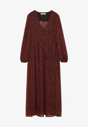 GARDEN - Denní šaty - rouge