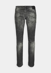 Jack & Jones - JJIGLENN JJFOX - Jeans slim fit - black denim - 1