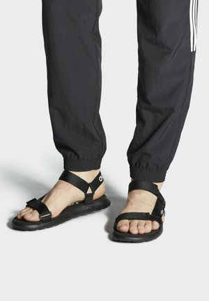 COMFORT - Walking sandals - black