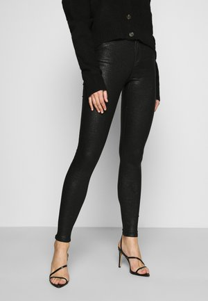 VICOMMIT  - Trousers - black/glitter