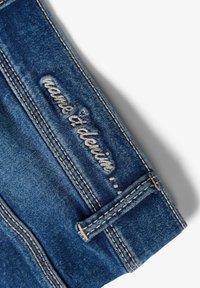 Name it - HIGH WAIST - Denim shorts - medium blue denim - 2