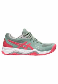 ASICS - GEL CHALLENGER 12 CLAY - Clay court tennis shoes - stone - 7