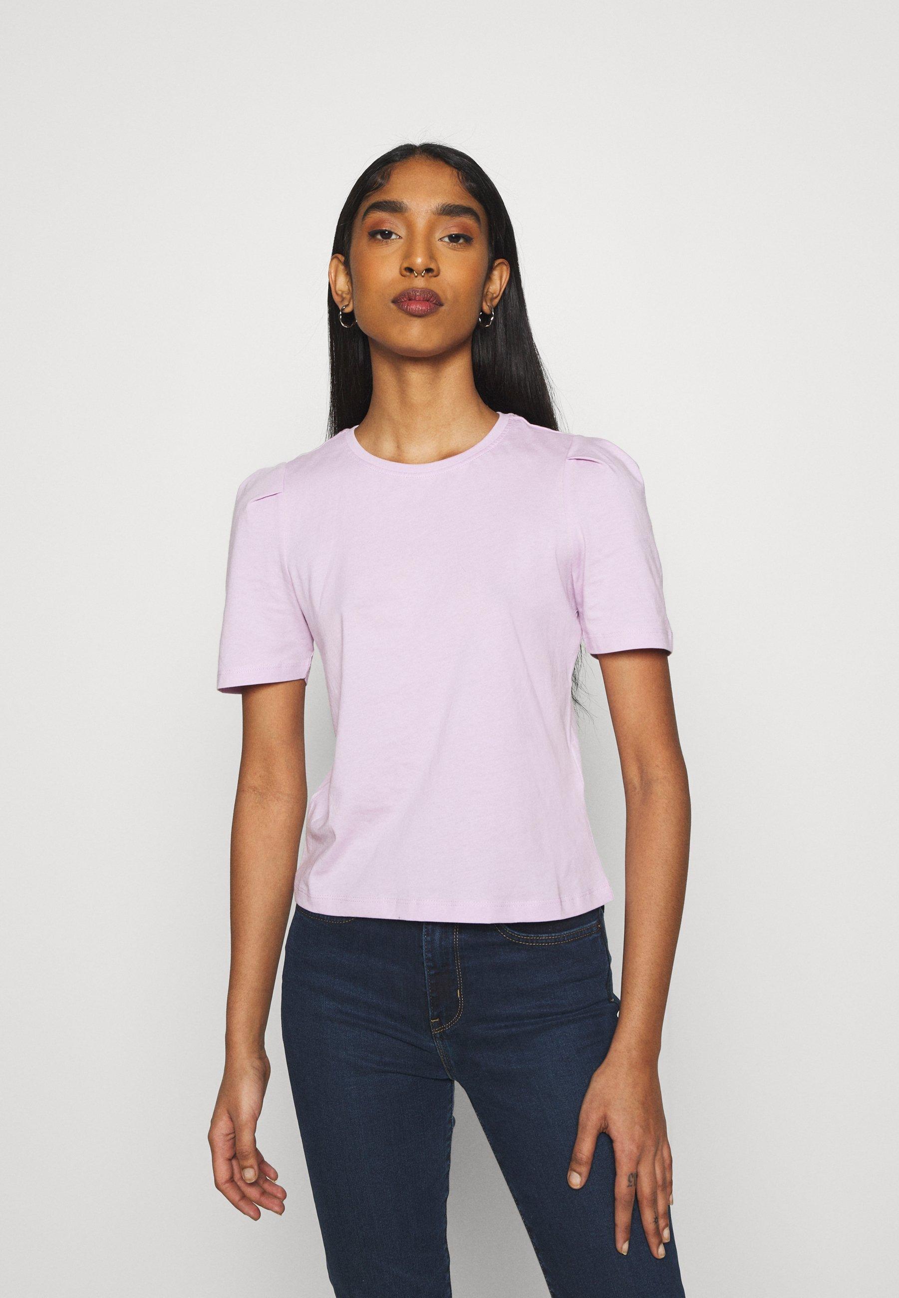 Women ONLELLA LIFE PUFF - Basic T-shirt