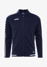 STRIKER - Fleece jacket - marine/weiß