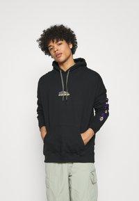 Quiksilver - TRIBAL TIES - Sweatshirt - black - 0