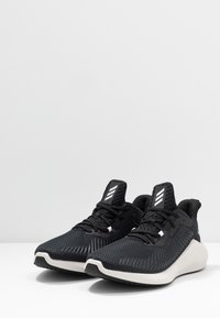 adidas Performance - ALPHABOUNCE 3 - Neutral running shoes - core black/silver metallic - 2