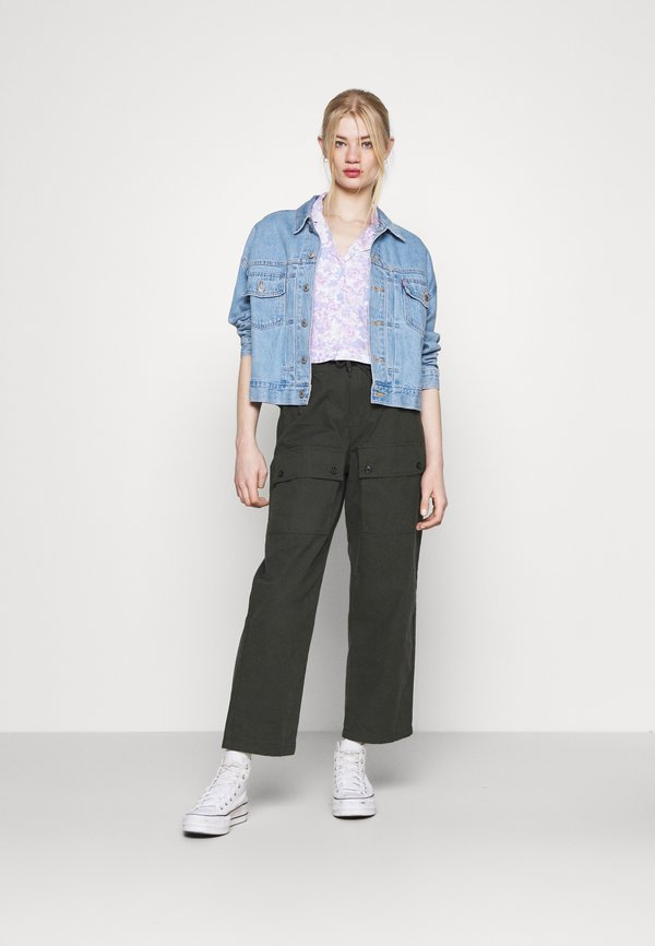 Cotton On CROPPED SUMMER - T-shirt z nadrukiem - lilac/liliowy FHNO