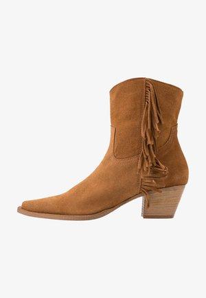 ZENZERO TRONCHETTO - Cowboystøvletter - marrone indiano