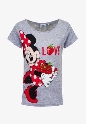 MINNIE - Print T-shirt - grau