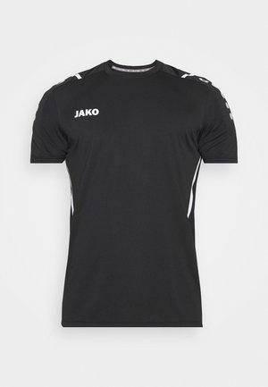 TRIKOT CHALLENGE - Triko spotiskem - schwarz/weiß