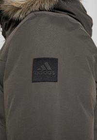 adidas Performance - XPLORIC - Winter coat - blue-grey - 7