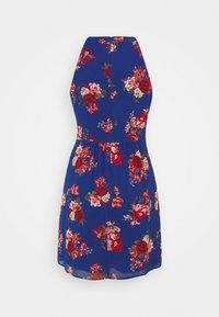 VILA PETITE - VIMILINA FLOWER DRESS PETITE - Day dress - mazarine blue - 1