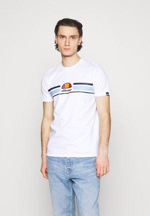 MONTELL - Print T-shirt - white