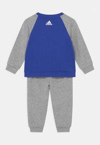adidas Performance - SET UNISEX - Tracksuit - bold blue/white/medium grey heather - 1