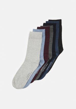 COMFORT SOCKS IN BOX UNISEX 7 PACK - Socks - light grey mix