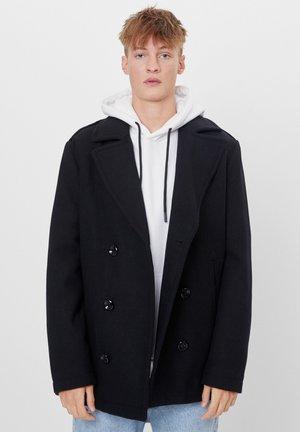 Pitkä takki - black
