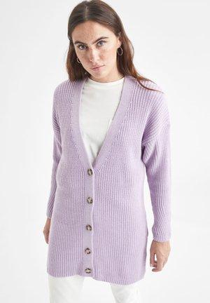 REGULAR FIT - Cardigan - purple
