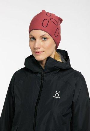 FANATIC PRINT CAP - Mütze - brick red/maroon red