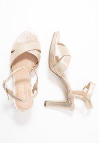 Menbur - High heeled sandals - stone - 3