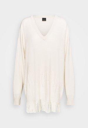 ABITO - Strikket kjole - beige