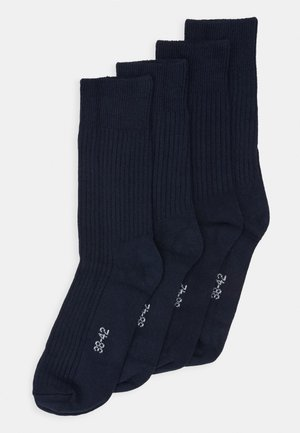 LINDEN SOLID COLOR SOCK 4 PACK - Strømper - total eclipse