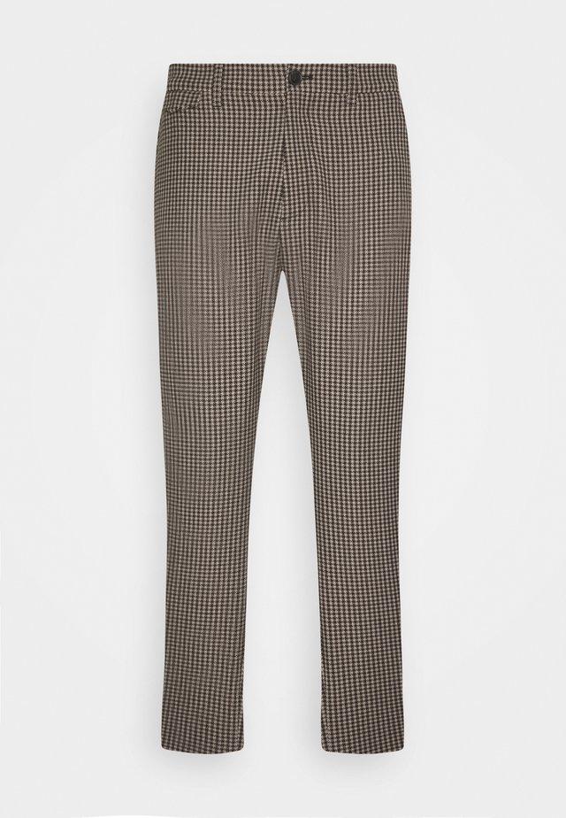 ATELIER TAPERED - Kalhoty - muddy beige