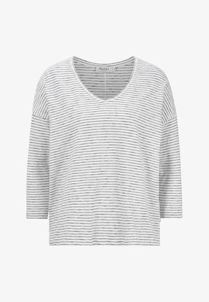 Long sleeved top - pure white