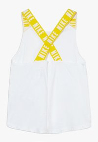 Nike Performance - DRY TANK ELASTIKA - Sportshirt - white/speed yellow - 1
