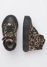 British Knights - Sneakers hoog - rust leopard/gold/black - 1