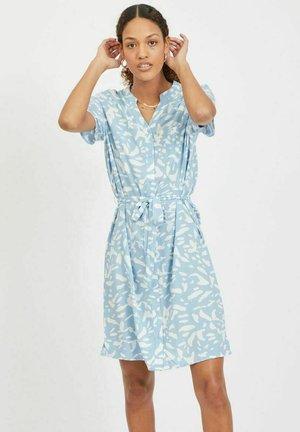 Shirt dress - blue bell