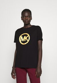 MICHAEL Michael Kors - LOGO CLASSIC TEE - Print T-shirt - black - 0