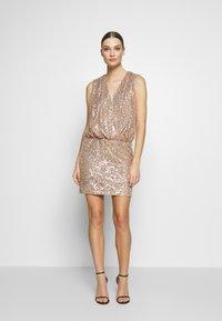 Just Cavalli - DRESS - Cocktail dress / Party dress - gold - 1
