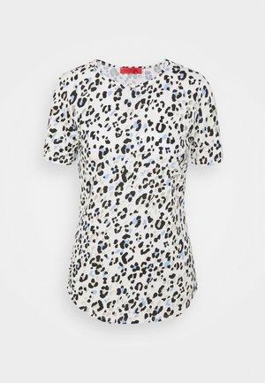 COLLAGE - T-shirt z nadrukiem - light blue pattern