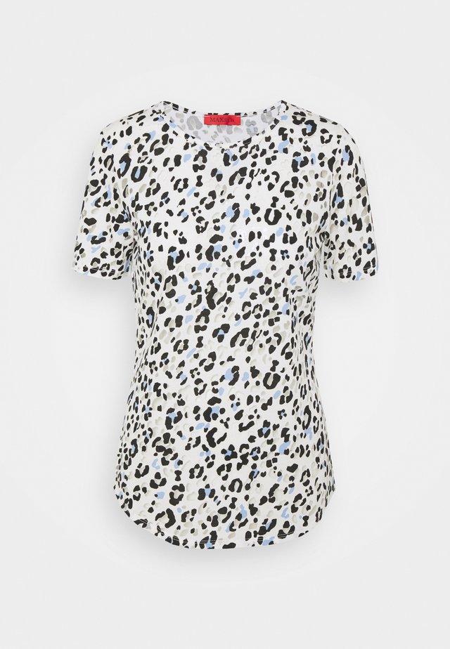 COLLAGE - T-shirt print - light blue pattern