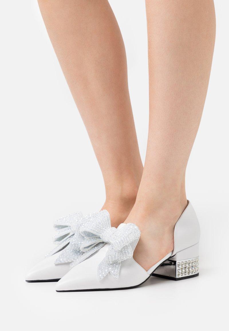 Jeffrey Campbell - VALENTI - Classic heels - white/silver