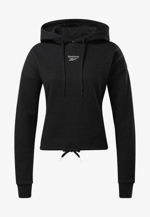 CLASSICS SMALL LOGO HOODIE - Hættetrøjer - black