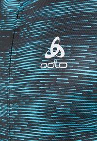 ODLO - STAND UP COLLAR FULL ZIP  - Cyklistický dres - mykonos blue - 5