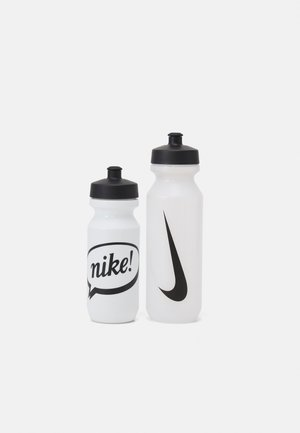 BIG MOUTH BOTTLE COMBI SET UNISEX - Drikkeflaske - clear/black/white