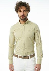 Auden Cavill - Formal shirt - beige - 0