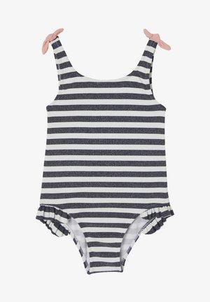 Swimsuit - wollweiß gestreift