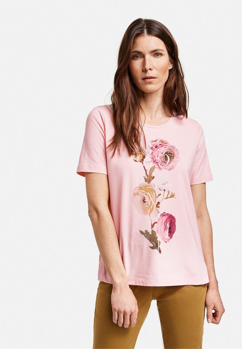 Gerry Weber - 1/2 ARM - Print T-shirt - rosé