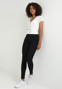 Object - OBJSKINNYSOPHIE - Jeans Skinny Fit - black - 1