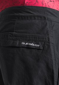 Quiksilver - SEA BED - Trousers - black - 3