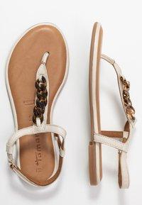 Tamaris - Flip Flops - ivory - 3