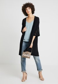 Culture - SICILLA KIMONO - Summer jacket - black - 1