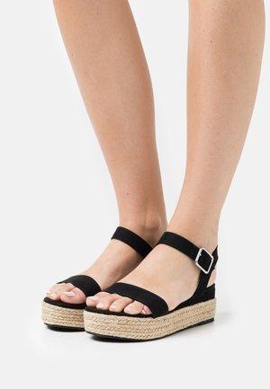 VMDRIA  - Platform sandals - black